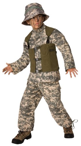 Morris Costumes Delta Force Child 8-10