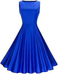 Amazon.com: Blue - Dresses / Clothing: Clothing Shoes &amp Jewelry