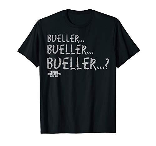Ferris Bueller Chalkboard Style Bueller Graphic -