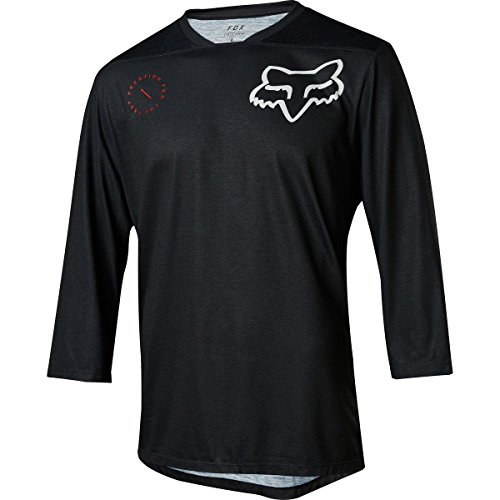 Fox Racing Indicator 3/4 Jersey - Men's Asym Black, XL