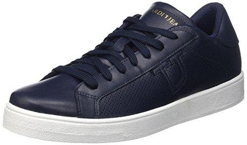 77S57153 Uomo Basso Collo Trussardi a Jeans Blu Sneaker B8q5nwOxf