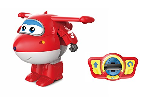 Super Wings - Dance & Transform R/C Jett Toy Figure