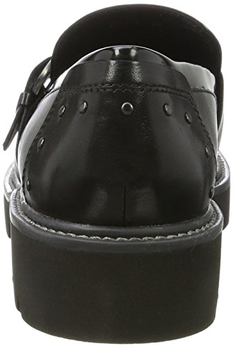 Geox Women's D Quinlynn B Loafers Black (Black C9999) 6xFLM