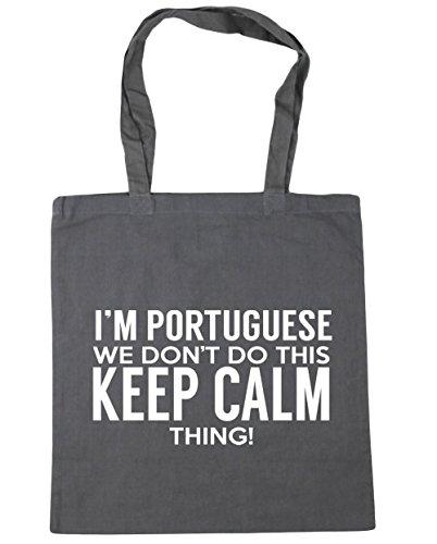 Beach Gym keep Shopping Grey do Portuguese x38cm thing HippoWarehouse litres 42cm Bag Graphite calm we 10 Tote this I'm don't SYg7npq