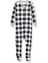 Kids' Baby and Toddler Zip-Front Footed Sleeper
