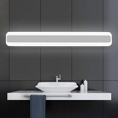 DIDIDD Lámparas de espejo de baño- luz frontal de espejo / luz frontal de espejo moderno simple / a prueba de agua antivaho...