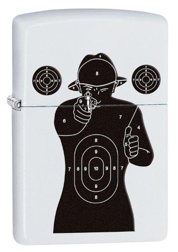 Zippo Shooting Target - Set de mantenimiento para acampada, acampada, acampada, color blanco 902e61