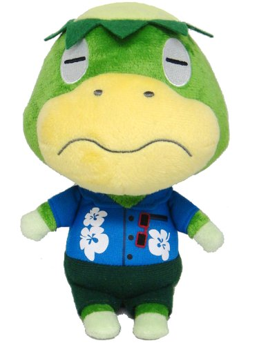 Amazon Com Sanei Animal Crossing New Leaf Doll Kapp N Kappei 8 5