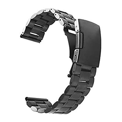 Vetoo 304 Stainless Steel 22mm Watch Bands for Pebble Time Steel,Classic,ZenWatch,Samsung Gear 2 ,G Watch from vetoo