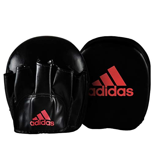 adidas FLX 3.0 Speed Micro Mitts, Black/Solar Red
