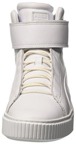 Platform Puma da Bianco Basse Donna Ginnastica Mid Scarpe White white dqrwUrt
