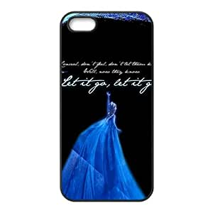 Happy Frozen Fashion Comstom Plastic case cover For Iphone 5s