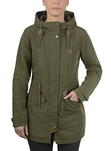 Outdoor Women's Green Ivy Parka Hood Sakura Desires 3797 Jacket with q6Ot8Zx