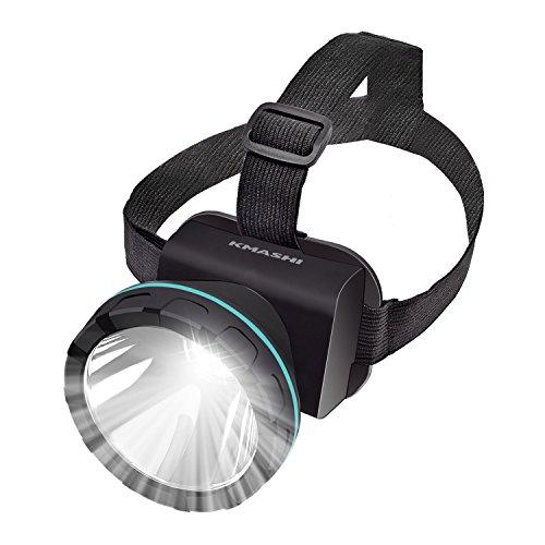 KMASHI Headlamp Flashlight, Super Bright Headlight with Rechargeable Batteries 2600 Feet Lighting Distance LED...