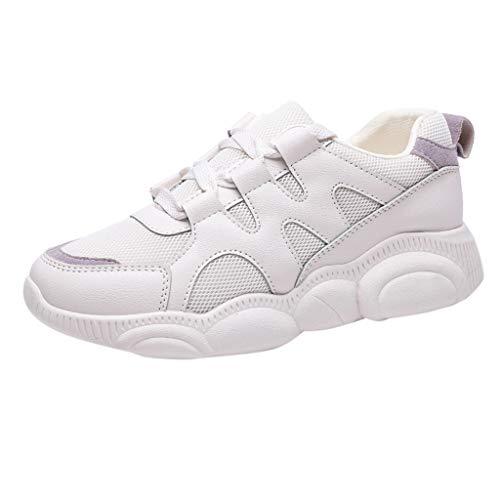 Dainzuy Women's Shoes Breathable Casual Walking Mesh Work Slip-On Sneaker Athletic Mesh-Comfortable Shoe Sneakers Beige