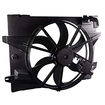 MOSTPLUS Radiator Cooling Fan Assembly for 05-11 Lincoln Town 06-11 Ford Crown Victoria Mercury Grand Marquis Replaces 6W1Z8C607AA: Automotive