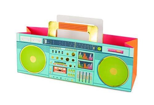 Cakewalk Colorful Retro Boom Box Bag, Multi-colored]()