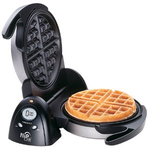 Presto FlipSide Belgian Waffle Maker – Belgian Waffle – 4 x Waffle-by NATIONAL PRESTO INDISTRIES
