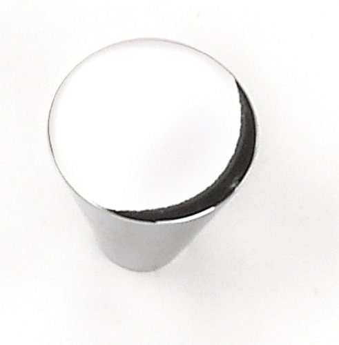 Laurey 26126 Cabinet Hardware 1-Inch Large Cone Knob, Polished ()