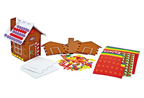 Colorations Make Your Own Gingerbread House Kit For12