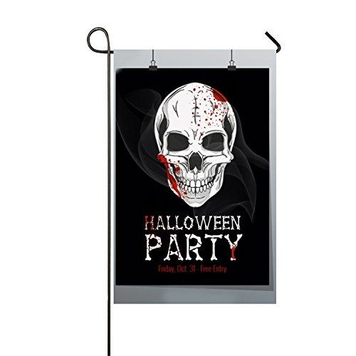 Frank Marner Halloween Printable Flyer Polyester Garden Flag Outdoor Decoration Funny for $<!--$10.59-->