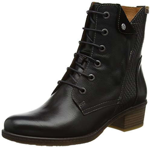 W9h Brown Black Boots i17 Pikolinos Women's Zaragoza Black XZA1wnx