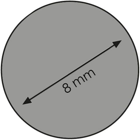 Rundstab Bastelstab Bastelleiste Rankhilfe Holzstab aus Kiefer-Massivholz /Ø 8 mm 900 mm