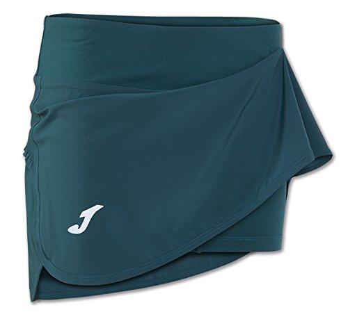 Joma - Falda tropical verde para mujer