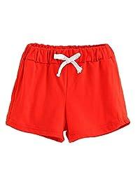 Tenworld Little Boys and Girls' Active Short, Summer Casual Beach Shorts