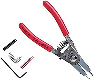 product image for Wright Tool 9H1221S Retaining Ring Plier with Adjustable Stop and Replacement Tips
