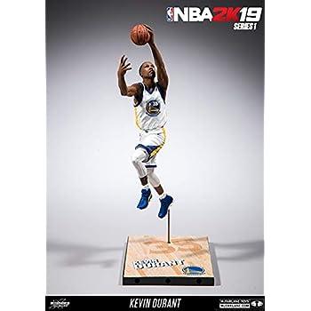 Kevin Durant Golden State Warriors McFarlane Toys NBA 2K19 Action Figure