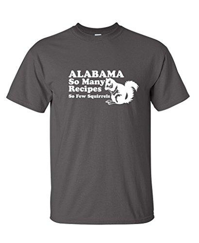 Alabama Receipes Squirrels Vintage Redneck product image