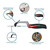 Milwaukee 48-22-0012 Compact Hand Operated Hack Saw w/ Tool-Less Blade Change
