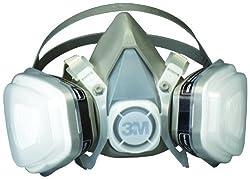 3m 07193 Dual Cartridge Respirator Assembly,organic Vaporp95,large