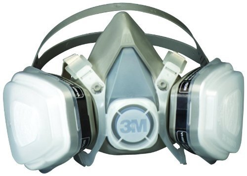 3M Dual Cartridge Respirator Assembly 3M 07193, Large by 3M