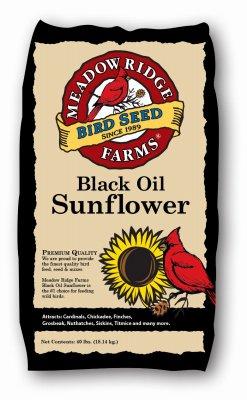 Jrk Seed & Turf Supply B200040 Wild Bird Food, Black Sunflower, 5-Lbs. - Quantity 50