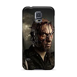 Shock Absorption Cell-phone Hard Cover For Samsung Galaxy S5 With Custom HD Carcass Band Series LauraAdamicska
