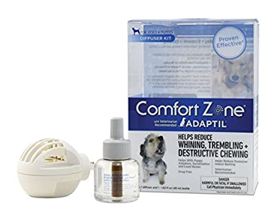 Comfort Zone Adaptil Diffuser Kit and Refill for Dog Calming