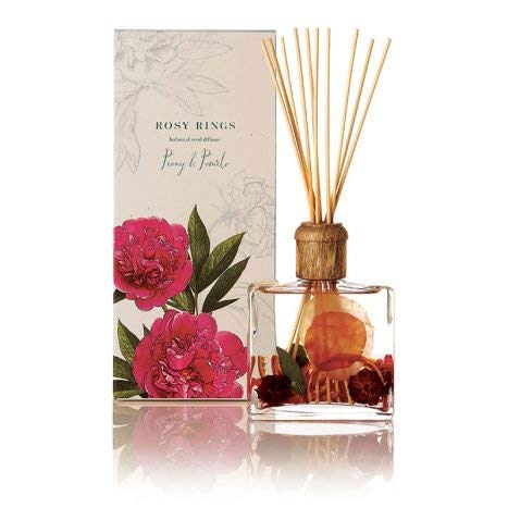 Rosy Rings Botanical Reed Diffuser - Peony and Pomelo by Rosy Rings (Image #1)