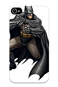 Defender Case With Nice Appearance (gamepro Cover Batman By Vegasmike ) For Iphone 4/4s / Gift For New Year's Day