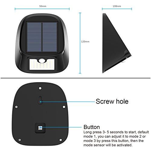 Solar-Lights-Outdoor-29-LED-Wireless-Motion-Sensor-Solar-Lights-Waterproof-Wall-Light-Security-Light-Solar-Powered-Landscape-lights-for-Deck-Driveway-Garage-Backyard-Gardening-Decor