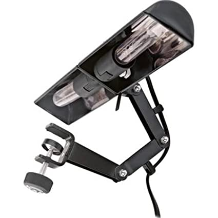 Amazon.com: LAMPARA ATRIL - Koenig & Meyer (12260) Double Light (Negro) (Conexion a Red) (Regulable) Para Orquesta: Musical Instruments