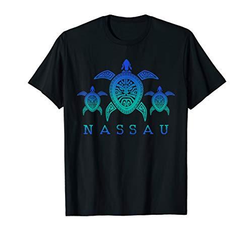 (Nassau Bahamas T-Shirt Sea Turtle Scuba Diving Shirt Gift)