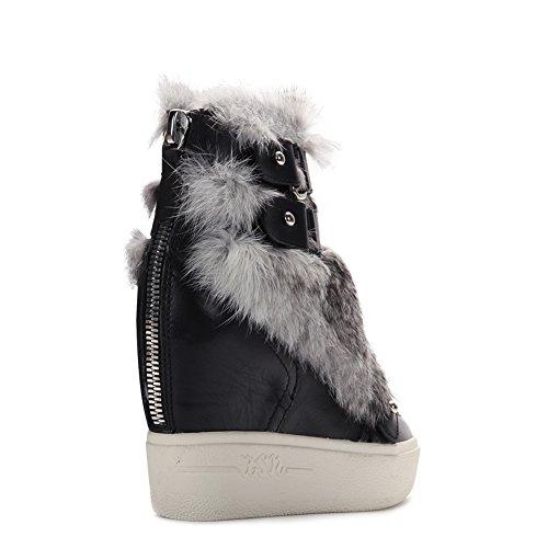 Ash Women's Fashion Animal Sneakers 350594 Black SZ 35 by Ash (Image #2)