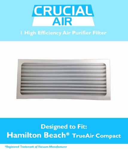 Crucial Air Replacement Air Purifier Filter Fits Hamilton Beach True Air 04383 Glow 04385, 990051000
