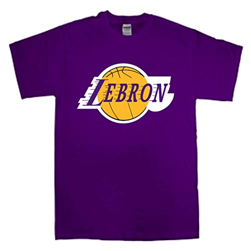 Purple Los Angeles Lebron Logo T-Shirt Toddler