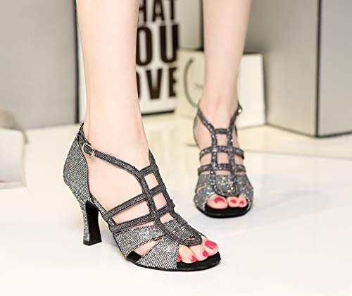 Donna Black Da Minitoo Sala 8cm l366 Heel Minitoouk nqxTp