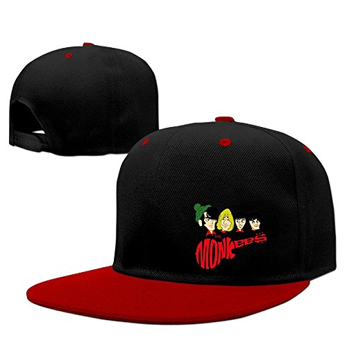 Price comparison product image HIPHOP Fashion Adjustable The Monkees Vintage Snapback