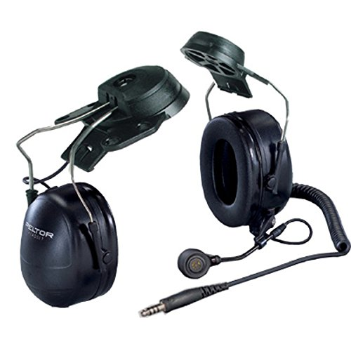 3M MT7H79P3E MT Series Hard Hat Model Headset, Two-Way Communications Headset 1/cs [You are purchasing the Min order quantity which is 1 CASE] by Peltor
