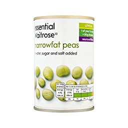 Marrowfat Peas essential Waitrose 300g - Pack of 6